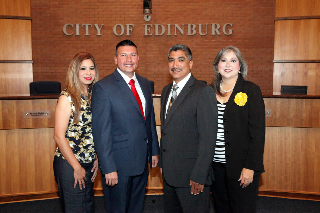 the newest member of the Board of Directors for the Edinburg Economic Development Corporation