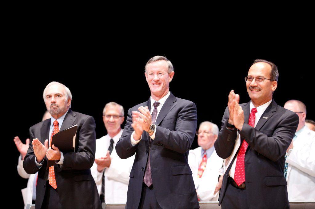 07_23_16 ___ Dr. Bailey, Chancellor McRaven, Provost Rodriguez