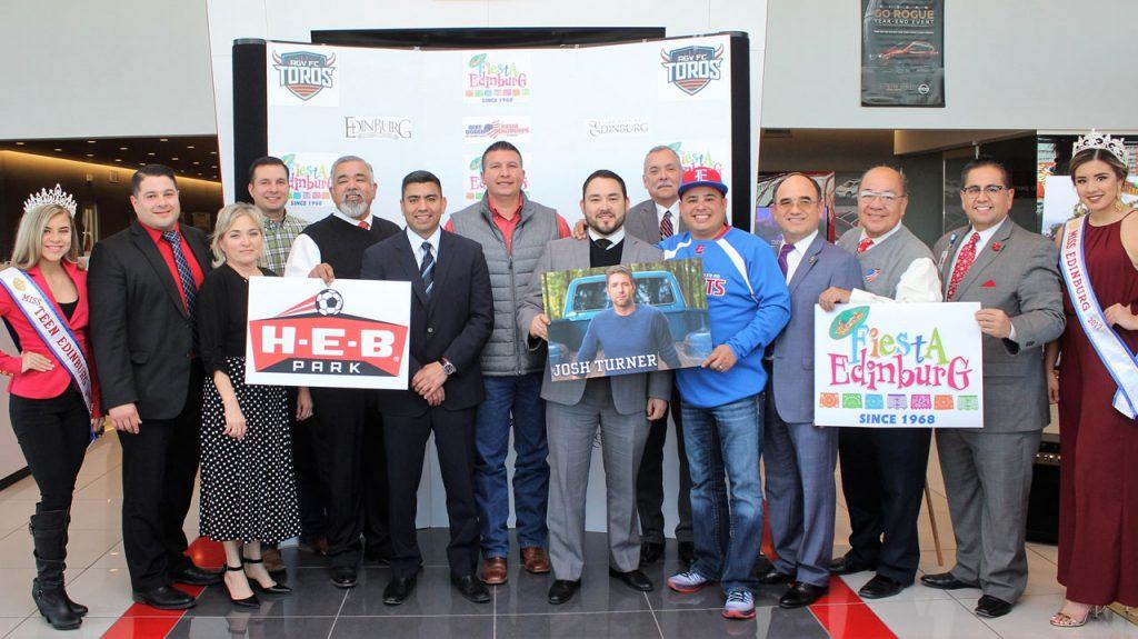 Fiesta Edinburg 2017, set for February 23 - 26, marks first time annual event will be held at H-E-B Park, the city's latest entertainment venue - Titans of the Texas Legislature