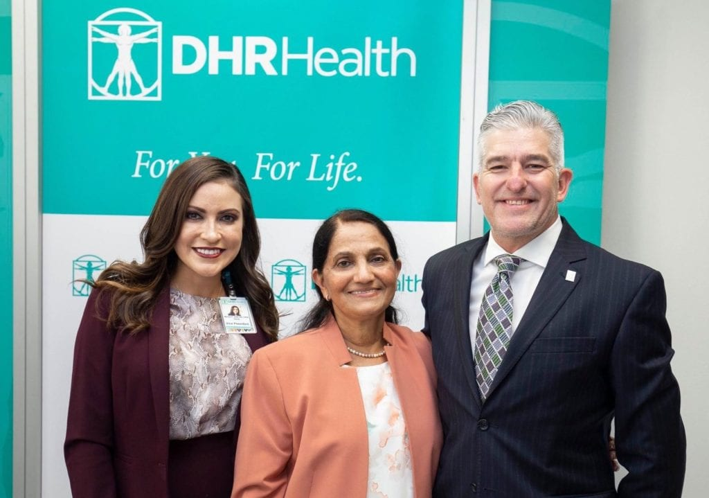 "Ingenuity and courage of DHR Health physicians, nurses, and staff, along with vital community support, helped overcome ""uncertainty"" and ""fear of the unknown"", during the beginning of COVID-19 in the Valley and nation, reflects a top medical leader - Titans of the Texas Legislature"