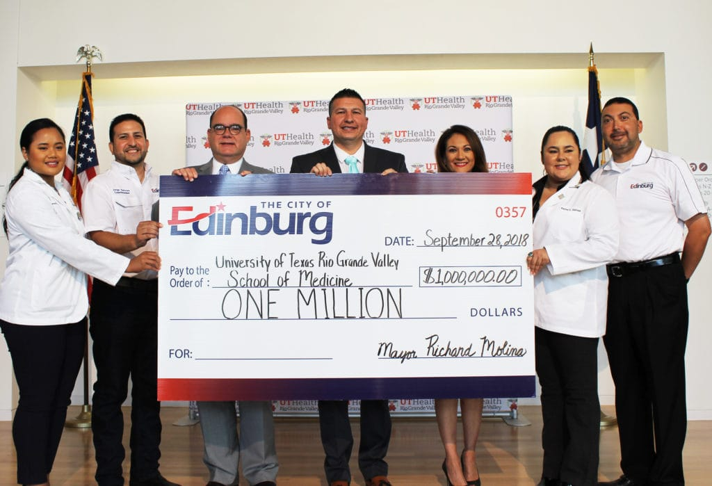 UTRGV School of Medicine's $1 million contribution from the Edinburg City Council being reviewed, could be reduced, in favor of other priorities - Titans of the Texas Legislature