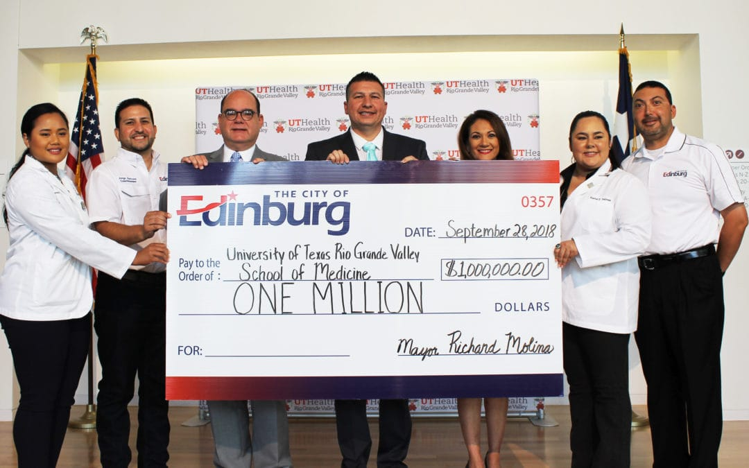 UTRGV School of Medicine's $1 million contribution from the Edinburg City Council being reviewed, could be reduced, in favor of other priorities