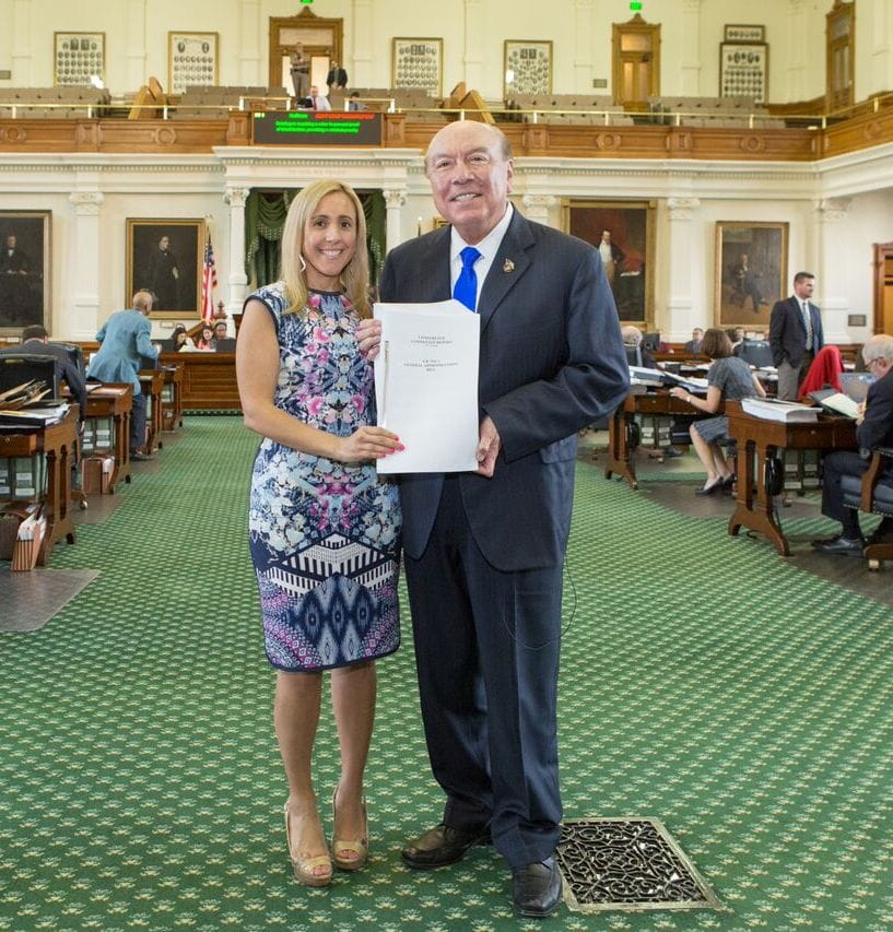 """""""Life isn't fair, but government must be."""" Gov. Richards' powerful saying is reflected in the legislative career of South Texas' Jennifer Saenz - Titans of the Texas Legislature"""