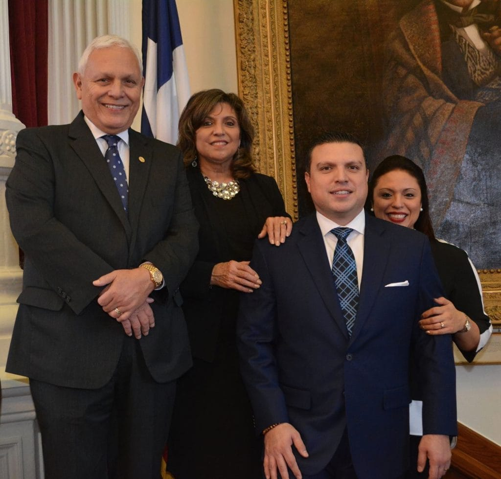 """Former Rep. Sergio Muñoz, Sr. (1952-2020) honored by Texas Legislature for his many achievements, including being an inspiration """"for serving the less fortunate among us."""" - Sergio Munoz - Titans of the Texas Legislature"""